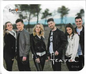 2021 Eurovision - Montenegro 2019. Heaven - D mol. ( Promo CD Single )