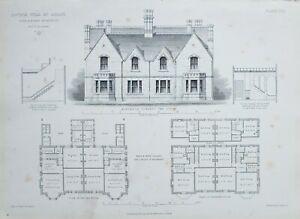 1868-Architektonisch-Aufdruck-Doppel-Villa-bei-Derby-Hine-amp-Evans