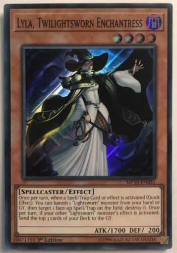 Twilightsworn Enchantress MP18-EN051 - Super Rare Lyla Yu-Gi-Oh 1st ed