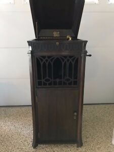 Merveilleux Image Is Loading 1915 Edison C19 Diamond Disc Phonograph Record Player