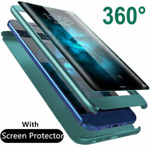 360-Shockproof-Armor-Case-for-iPhone-SE-2020-Hybrid-Cover-9H-Glass-Film-Screen