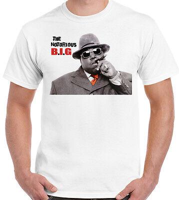 NOTORIOUS B.I.G BIGGIE SMALLS T SHIRT T SHIRT HIP HOP HOODIE UP TO 5 XL