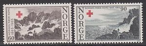 1965 NORWAY Red Cross NK 564-65 MNH