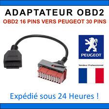 OBD1 a OBD2 Adaptateur PSA 30 Pin 16 Broches Peugeot - Citroen À Convertisseur