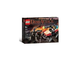 Lego Dino Ataque Street Sprinter vs. Lagarto mutante (7473)