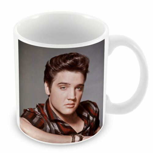 Mug Céramique Tasse Elvis Presley Chanteur Vieille Musique Original 14