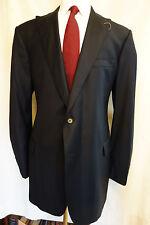 NWOT Brooks Brothers 1818 Regent Navy Peak Lapel Wool Blazer 44 Extra Long