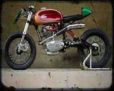 Ducati F3 Radical Ducati A4 Metal Sign Motorbike Vintage Aged