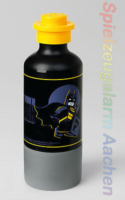 Lego Trinkflasche The Batman Movie Schwarz Gelb Drinking Bottle Black 350 Ml Baukästen & Konstruktion