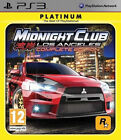 Midnight Club: Los Angeles -- Complete Edition (Platinum) (Sony PlayStation 3, 2009)