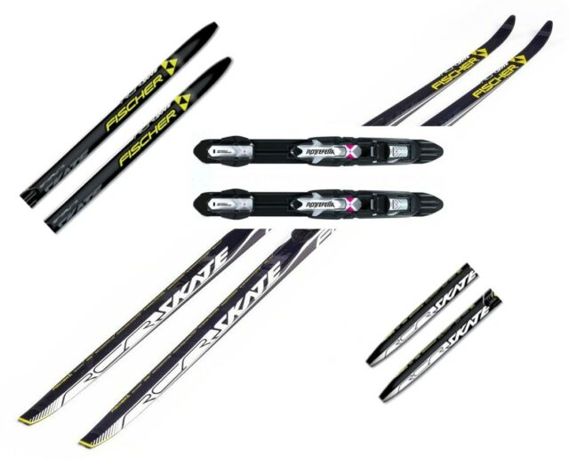 Cross Country Skis For Sale Ebay >> New Fischer Rcr Skating Skate Cross Country Skis Bindings Package 182cm 187cm