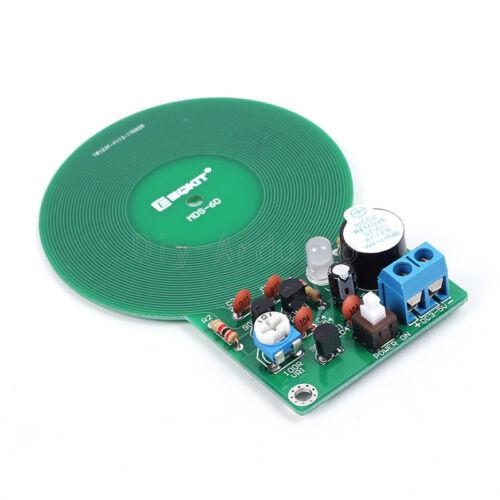 1X DC 3V-5V 60mm Metal Detector Kit Electronic Kit Non-contact Sensor DIY Kit