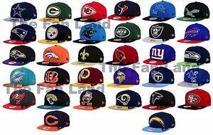 New-NFL-Wool-Classic-XL-Logo-9FIFTY-New-Era-Snapback-Cap-Hat
