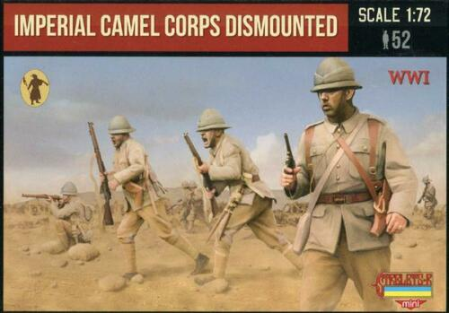 1:72 Imperial camel corps dismounted M123 Strelets