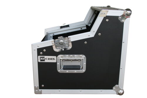 """Winkelrack 3//7//6 HE Flightcase Kombi Case 6HE DJ Rack Mixer L-Rack 19/"""" CD-Player"""