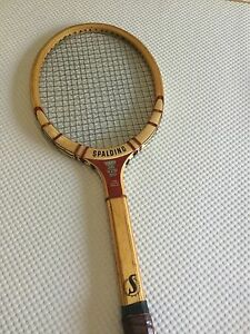 Spalding DAVIS CUP Vintage Wood Tennis Racquet