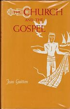 CATHOLIC BOOK   CHURCH AND THE GOSPEL  BY JEAN GUITTON