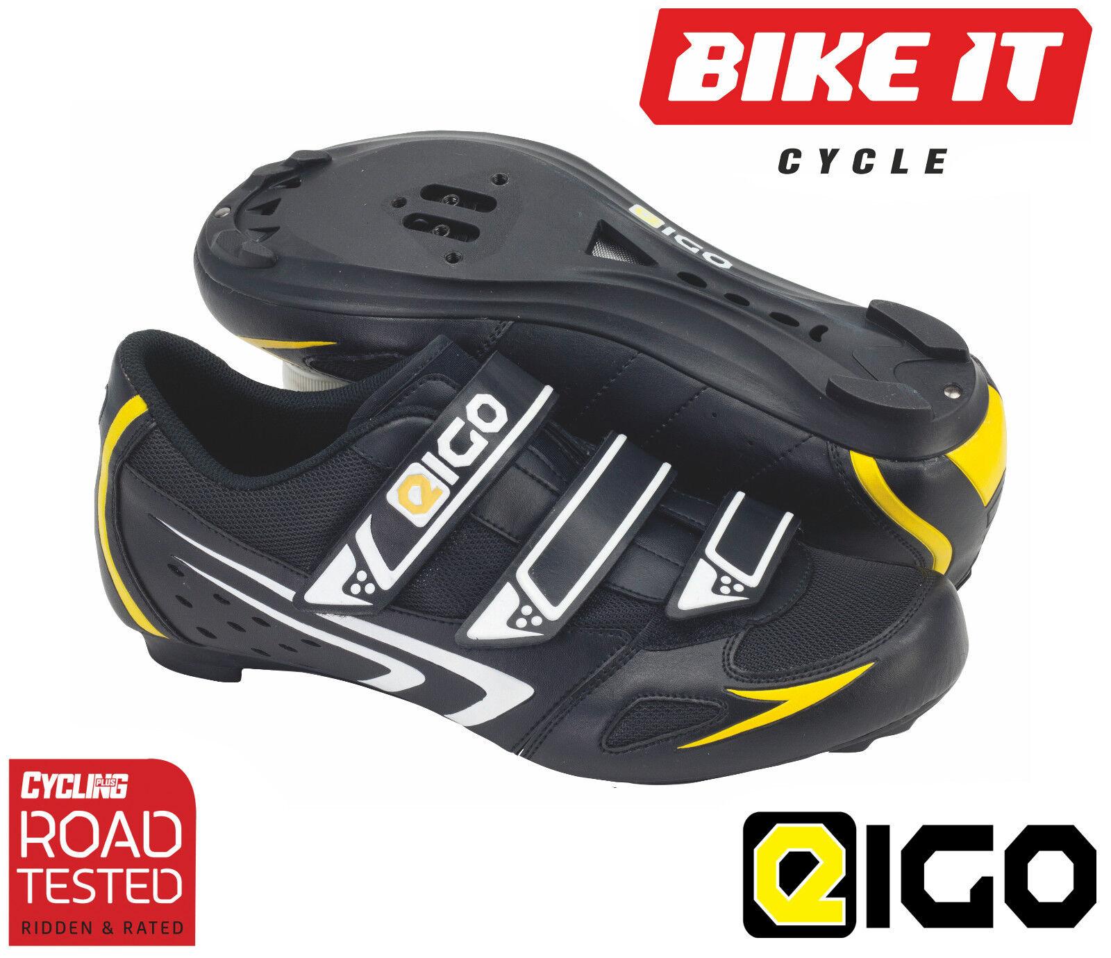 Eigo theta il ciclismo-STRADA TOURING ciclo bicicletta triathlon-Nero