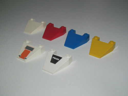 Lego ® Nez Capot Avion Wedge Slope Brick 4 x 4 Taper Choose Color ref 4858