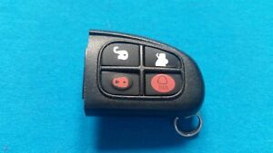 ORIGINAL-JAGUAR-XJ-amp-XJR-TYPE-4-BUTTON-FLIP-KEY-FOB-REMOTE-EURO-SPEC-REMOTE