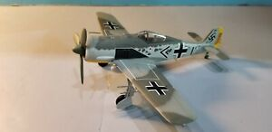 """ARMOUR (98029) LUFTWAFFE FW-190 """"PIPS PRILLER"""" 1:48 SCALE DIECAST METAL MODEL"""