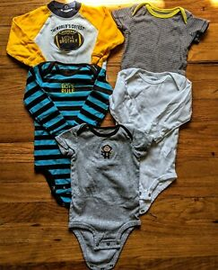 5 Carter S Baby Boy Clothing Lot Size 9 Months Ebay
