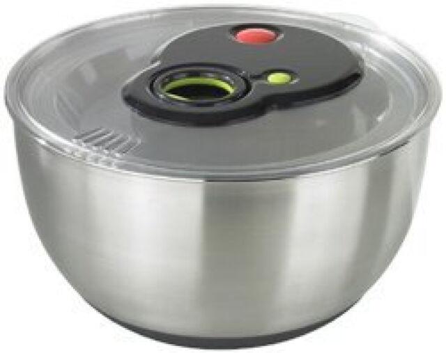 Emsa 513441 Turboline Salad Spinner Medium Silver
