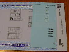 Microscale Decal N #60-1482 Conrail (CR) Coal Hoppers (Decal Sheet)