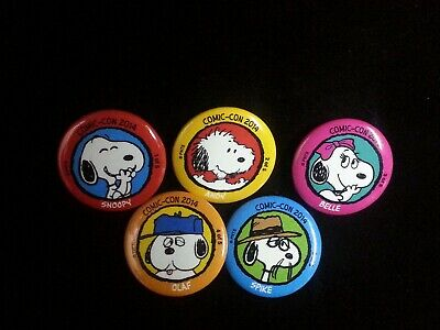 Peanuts Snoopy 50th Anniversary Button Authentic