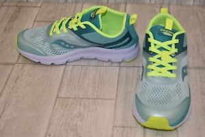 12b85cdda4 Saucony Liteform Miles Running Shoes, Big Girl's Size 5 M, Turquoise ...