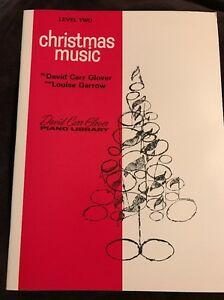Level 3 Christmas at the Piano David Carr Glover Method for Piano