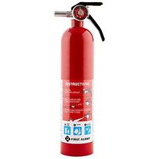 First Alert Rechargable Standard Home Fire Extinguisher Red