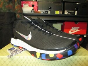 a38f7ea335e SALE NIKE KOBE AD MM MARCH MADNESS BLACK MULTICOLOR CONFETTI AJ6921 ...