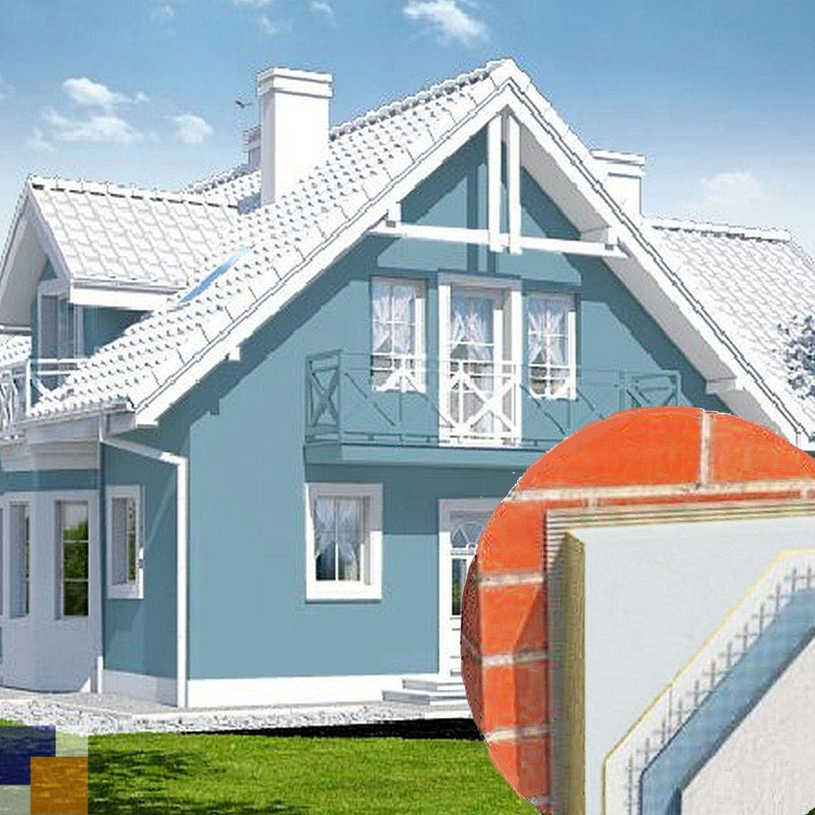 150 qm 80 mm KOMPLETTPAKET Fassadendämmung WDVS Dämmung