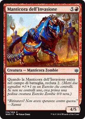 MTG Magic Mint//NM FOIL Conquering Manticore  VO
