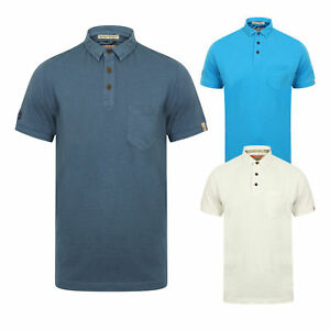 New Mens Tokyo Laundry Cotton Rich Short Sleeve Collar Polo Shirt Top Size S-XL