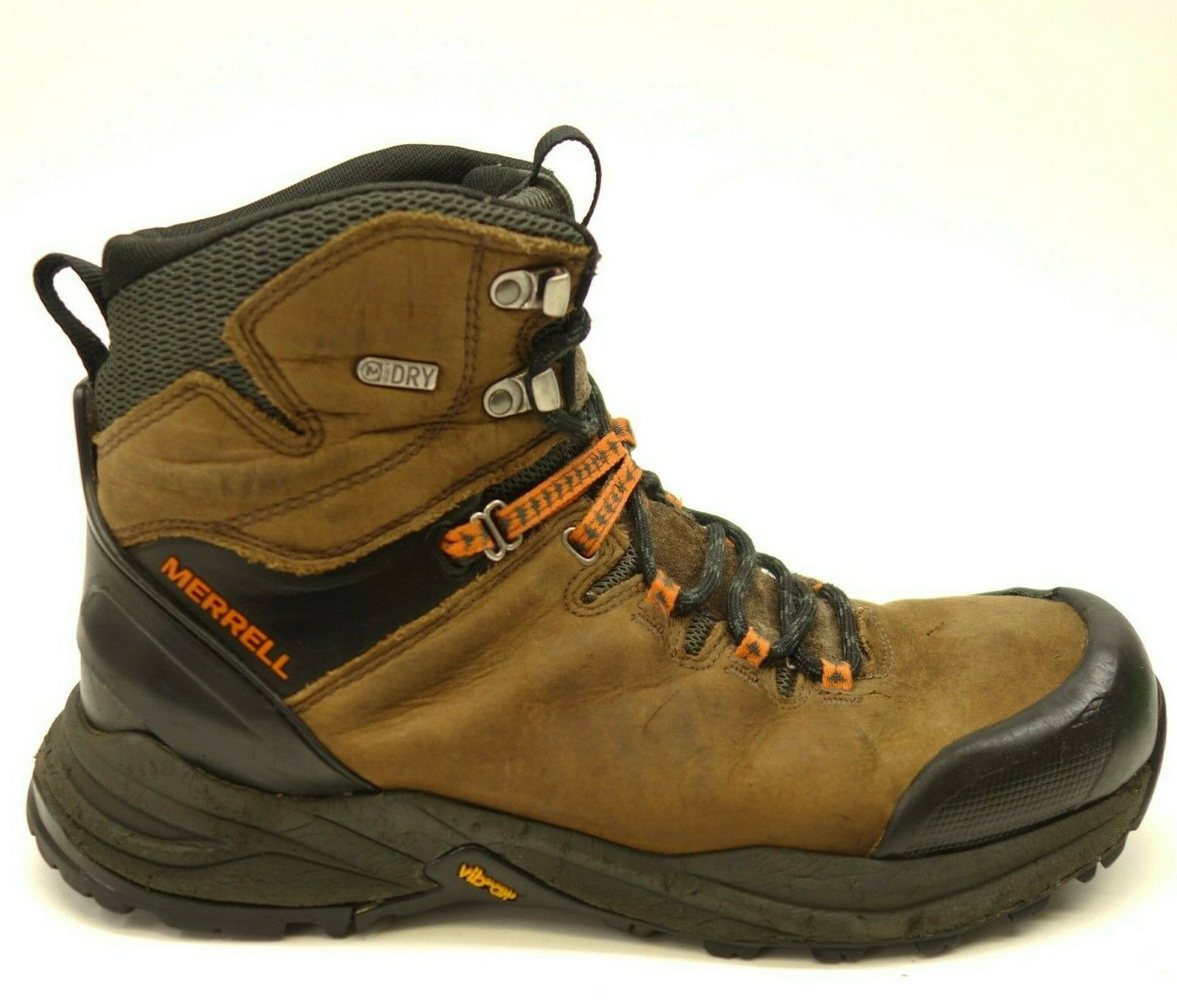 Merrell Phaserbound US 9.5 Hiking Waterproof Leather Athletic Mens Boots