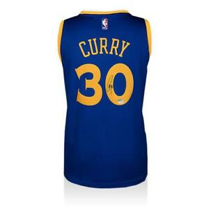 best service 31ee4 f72b0 Details about Stephen Curry Back Signed Golden State Warriors Home Jersey  Autograph