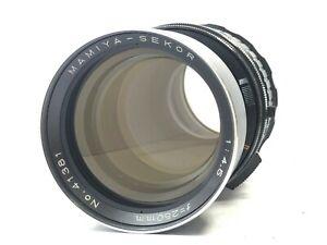 [ottica N-Nuovo di zecca] Mamiya Sekor 250mm f/4.5 MF Lente per RB67 fotocamera Pro S Giappone SD
