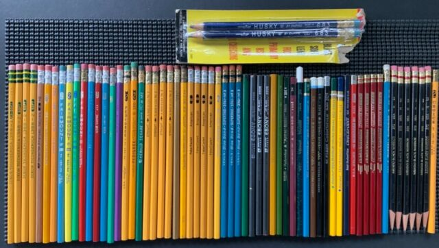 Vintage Pencil Lot, over 60, Empire, Eberhard Faber, writing, drawing, and color