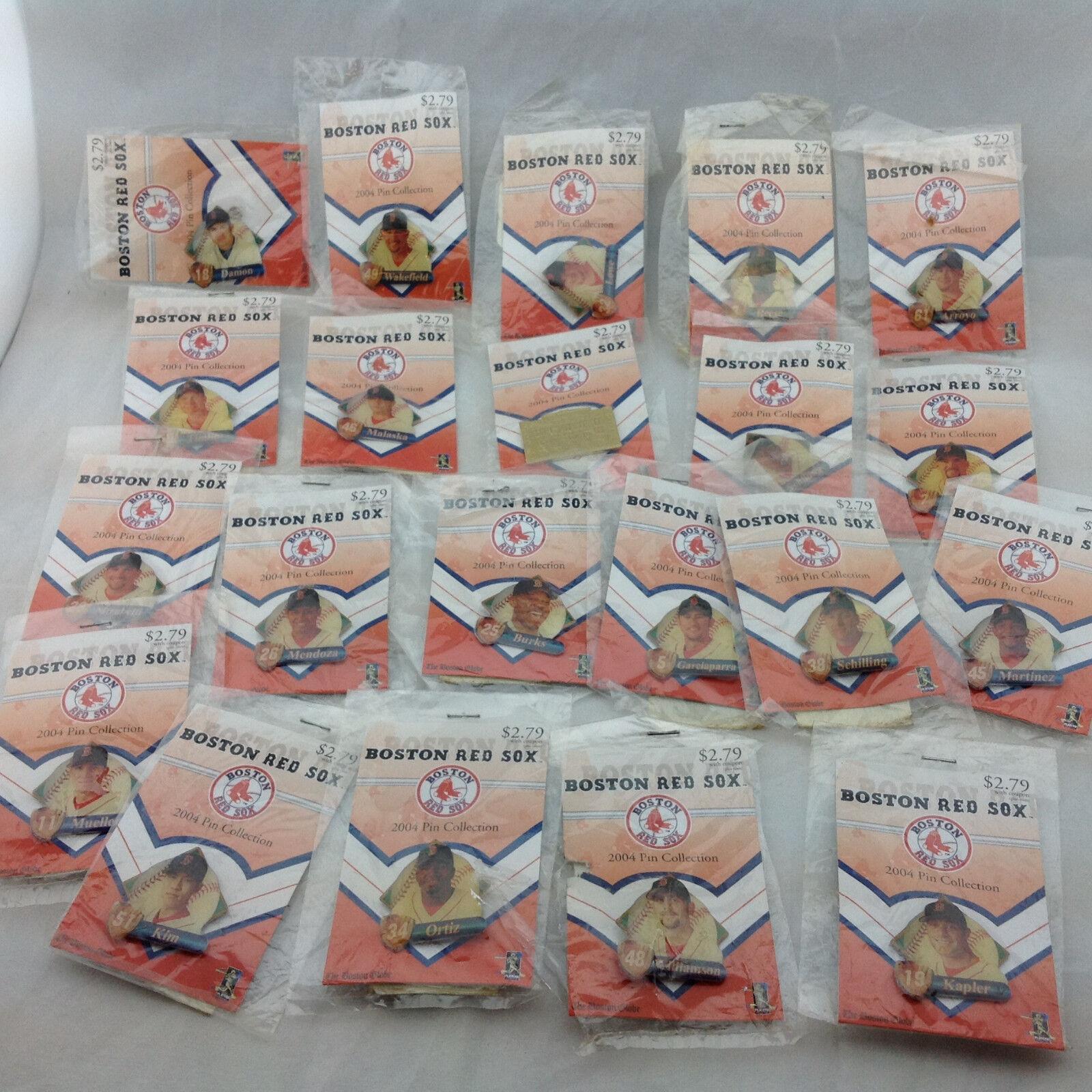 Rot Sox Sox Sox Pins Sammlung von 21 Pins 4fbb76
