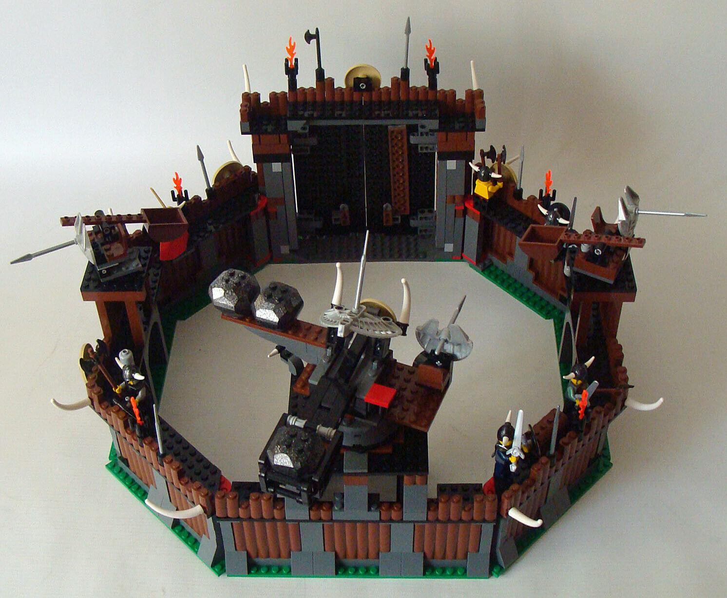 Lego Wikings 7019 - Festung und Drache 7 -14 Jahren Gebraucht  Använt
