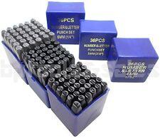 108pc 14 316 532 Letter Amp Number Stamping Set Hardened Steel Metal Die
