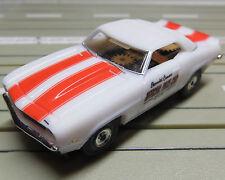 für Slotcar Racing Modellbahn - 1969 Chevrolet Camaro Pace Car mit T-Jet Motor