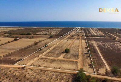 Terrenos en venta en playa Palmarito a 10 min de Puerto Escondido Oaxaca