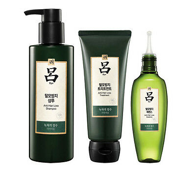 [RYO] Ryeo Spatherapy Hair Loss Care Full Set (Shampoo+Treatment+Essence)