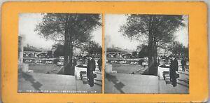 Parigi I Quais i Librai Foto Pl36 Stereo Vintage Analogica c1900