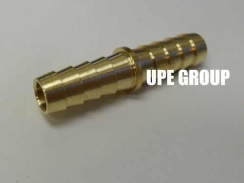 25 Pack 3//8 Hose Barb Mendor Union Splicer Brass Pipe Fitting NPT Gas Fuel Air