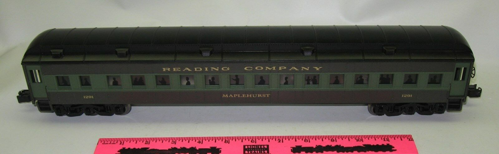 K-Line Reading Company  1291 Maplehurst  Passenger Car