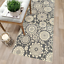 thumbnail 10 - Maidste Floral Hooked Gray/Ivory Rug
